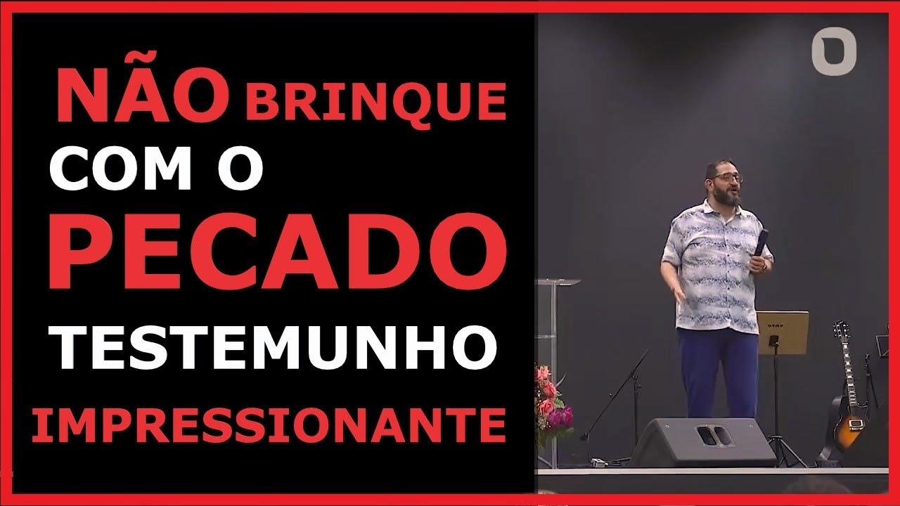 Pr Luciano Subirá - Testemunho Evangélico Impactante Sobre Brincar Com o Pecado