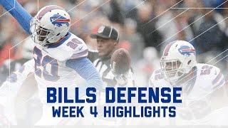 Bills Defense Shuts Out Patriots   Bills vs. Patriots   NFL Week 4 Player Highlights