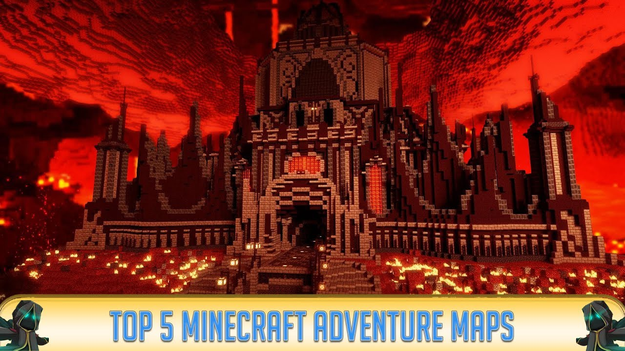 Best Minecraft Adventure Maps 2019 ✓ Minecraft 1.14.4: Top 5 Adventure Maps! (2019)   YouTube