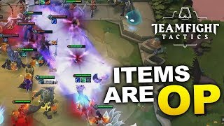 BUILD FOR ITEMS! How to Win Teamfight Tactics