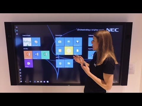 NEC InfinityBoard - State-of-the-art Collaboration
