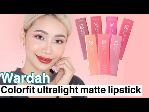 wardah-colorfit-ultralight-matte-lipstick-|-swatches-&-review-.