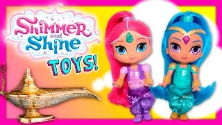 SHIMMER & SHINE Nickelodeon Shimmer and Shine Dolls Funny Kids  Toys Video