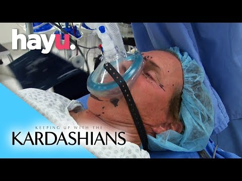 Bruce Gets Plastic Surgery | Keeping Up With The Kardashians