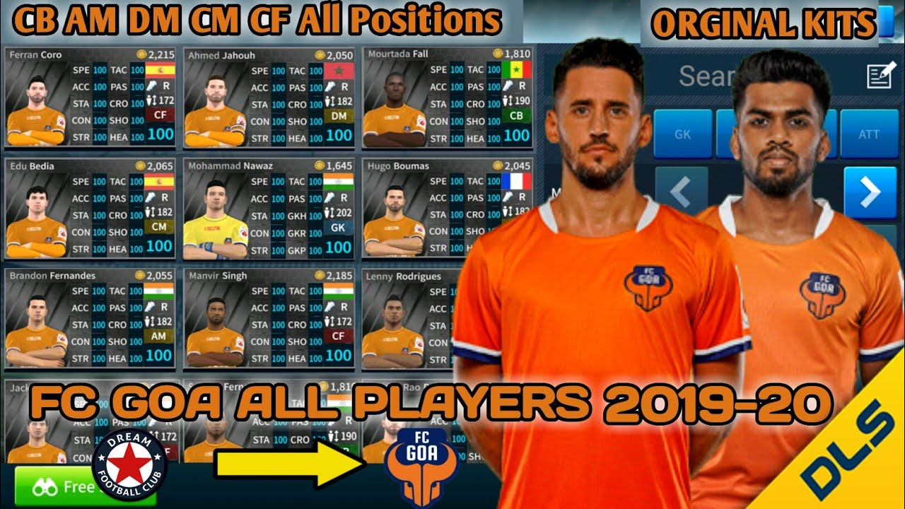 FC GOA DLS TEAM 2019-20 NEW DLS KIT Normal And Hack Zip