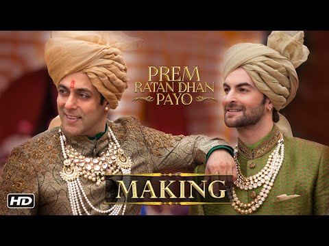 Making Of Prem Ratan Dhan Payo Title Song...