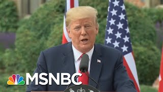 Clean Up On Aisle 45: WH Aides On Damage Control After NATO, UK Visit | Deadline | MSNBC