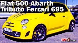 Abarth 695 Tributo Maserati 2012 Videos