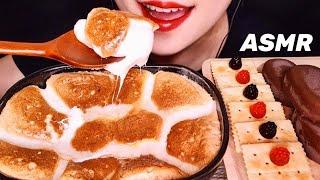 ASMR 퐁신퐁신 달달한 스모어딥, 티코 아이스크림 디…
