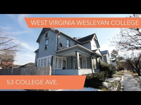 West Virginia Wesleyan College Off-Campus Housing: 53 College Ave.