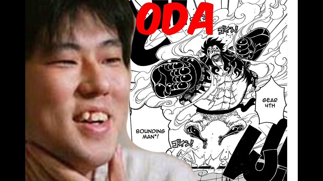 Dessiner Comme Eiichirō Oda : ONE PIECE - YouTube