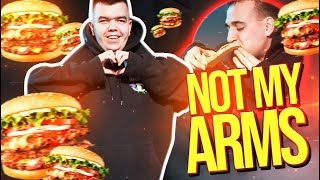 NOT MY ARMS CHALLENGE! | DELIC & DUTCHMAN
