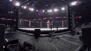 360 Virtual Reality: Bellator 183 | Aaron Pico vs. Justin Linn - KNOCKOUT moment! thumbnail