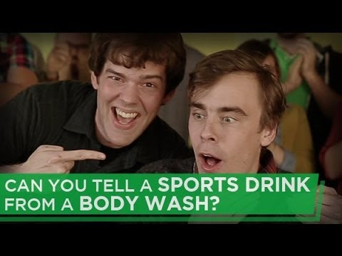 Can You Tell a Sports Drink From A Body Wash?