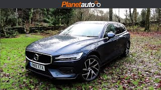Volvo V60 Estate 2019 D4 Review and Road Test