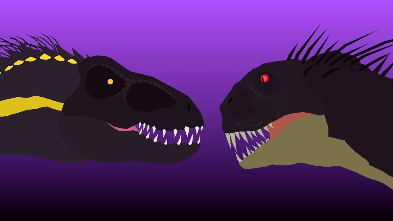 Download Indoraptor vs Scorpius Rex / Stick Nodes Animation