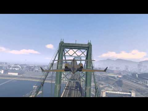 GTA V: How to Land a Luxor Deluxe