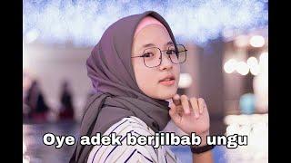 Adek berjilbab ungu - Cover Nisa Sabyan