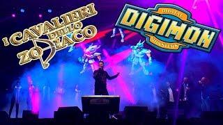 I Cavalieri dello Zodiaco/Digimon | Sigle ita Live @Lucca Comics & Games