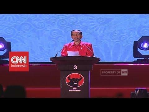 Jokowi Hentikan Pidato Saat Azan Zuhur Berkumandang | HUT Ke-46 PDIP
