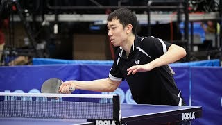 2017 US Open Table Tennis Championships - Men's and Women's Semifinals - Table 1 (Day 3 Afternoon)