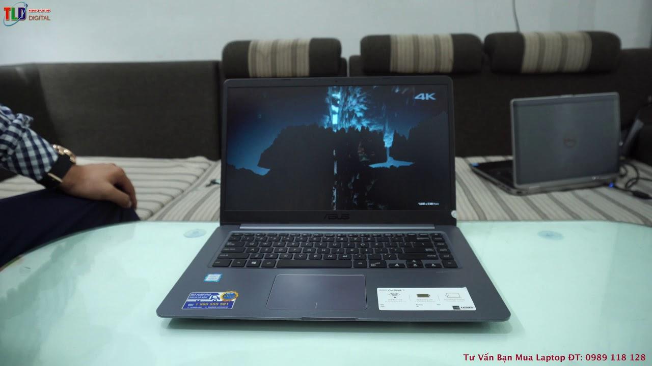 Trên Tay Chiếc Laptop Asus ASUS VIVOBOOK X510U Giá Rẻ Thiết Kế Tuyệt Đẹp