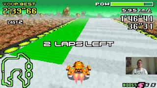 Let's Play F-Zero - MaxVelocity I Part 151 I die Jet-Violet-Knight-Duelle