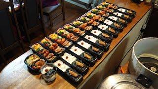 【帰って来た弁当】弁当をたくさん作るぞ!その338【BENTO】[I came back. lunch box] Part338