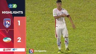 Highlights | Than Quảng Ninh - Viettel | Bùi Tiến Dũng ghi Bàn thắng Vàng vào chung kết | VPF Media