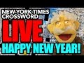 New Years LIVE Puzzle New York Times Crossword