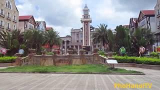 Thị trấn Đông hưng Trung quốc giáp Thành phố Móng cái Quảng ninh Việt nam(2).