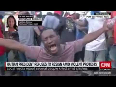 Haitian Times Correspondent On Protests Rocking Haiti
