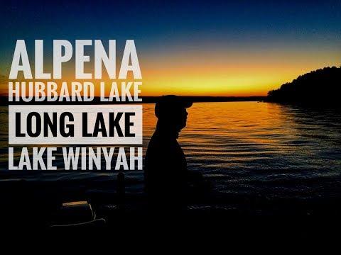 Alpena Bass Fishing: Hubbard, Long, Winyah