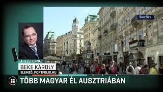 Egyre több magyar él Ausztriában 2019-05-12