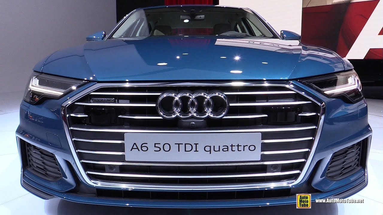 2019 Audi A6 50 Tdi Quattro Exterior And Interior Walkaround