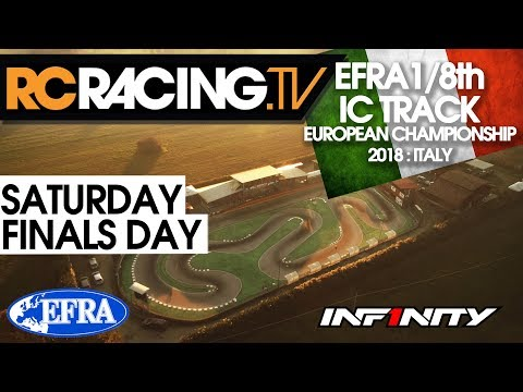 EFRA 1/8th Track Euros - Saturday- Finals Day -  LIVE!