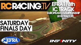 EFRA 1/8th Track Euros - Saturday- Finals Day -  LIVE! thumbnail