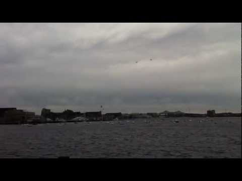 US Navy Blue Angels Over Boston
