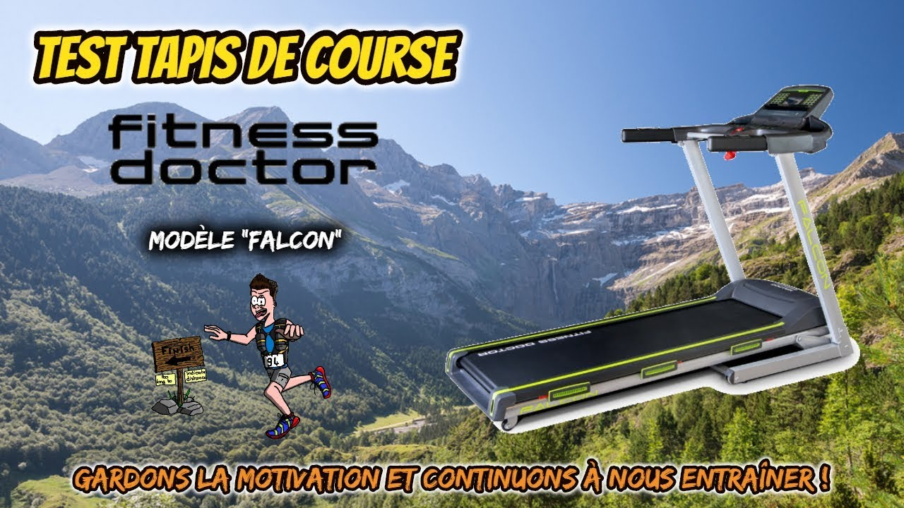 test tapis de course falcon fitness doctor antsorun
