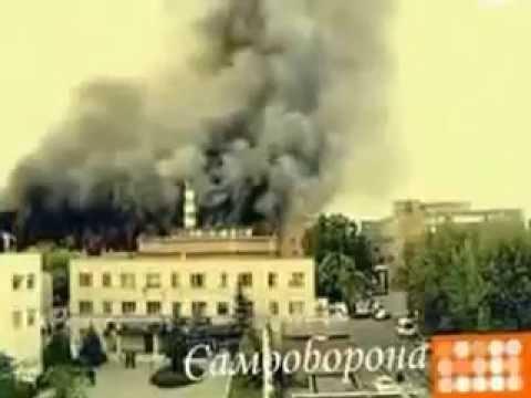 Действия при эвакуация из зданий на пожаре