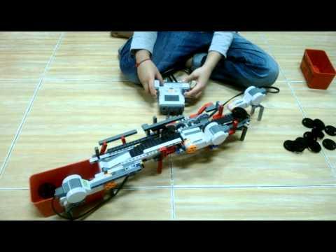 น้องแจ๊ป ต่อเลโก้ เครื่องผลิตโดนัท