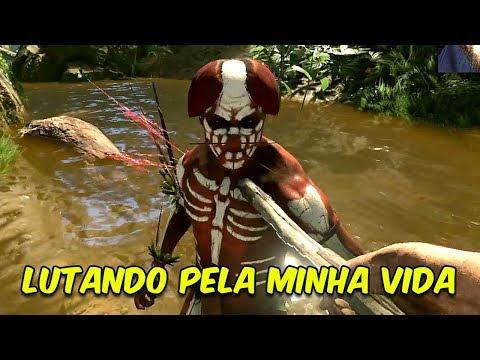 LUTANDO CONTRA NATIVOS PELA MINHA VIDA! | Green Hell #4