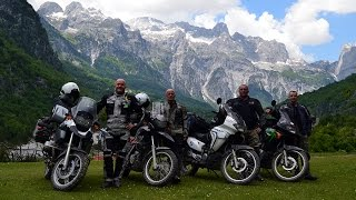 PRZYGODA, PASJA, MOTOCYKLE - ALBANIA 2014