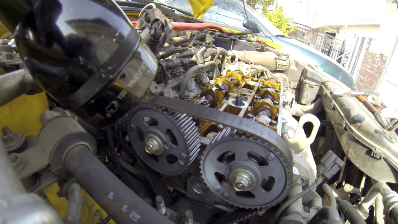 02 03 mazda protege5 timing belt and water pump replace youtube 02 03 mazda protege5 timing [ 1280 x 720 Pixel ]
