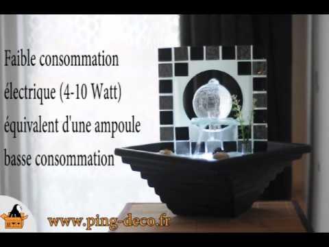 fontaine d 39 int rieur zen boule victoria www ping deco fr. Black Bedroom Furniture Sets. Home Design Ideas