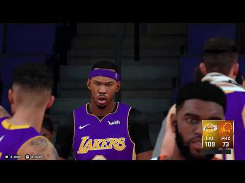 NBA 2K18 PC | My League (PL) | vs Phoenix Suns | 4K w/Mods