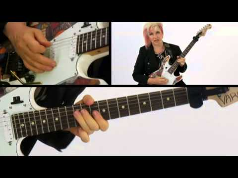 50 Ultra-Intervallic Licks - #14 Blue Tude - Guitar Lesson - Jennifer Batten