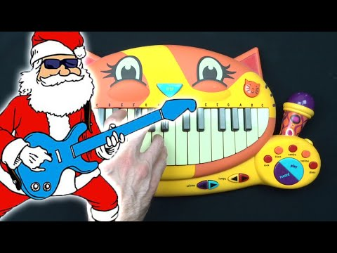 HOW TO PLAY JINGLE BELL ROCK ON A CAT PIANO