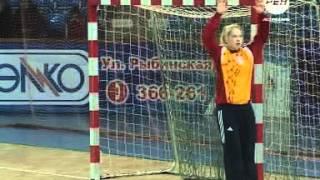 Юниорская сборная России по гандболу выиграла одну из трёх контрольных встреч против команды Дании1