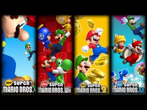 New Super Mario Bros OST  All Overworld Theme